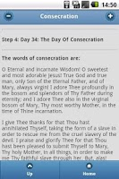 Screenshot of Consecration To Mary
