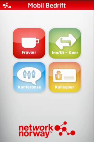 Network Norway Mobil Bedrift - screenshot