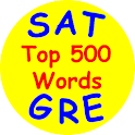 SAT-GRE Top 500 Words logo