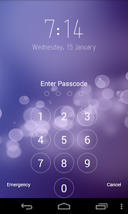 Keypad Lock Screen - screenshot thumbnail