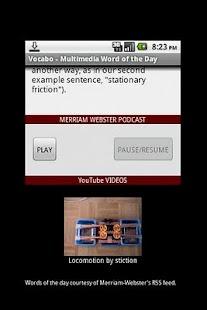 Vocabo- screenshot thumbnail