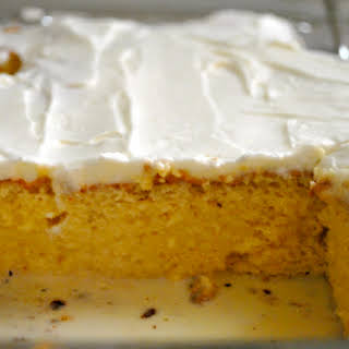 Delicious Tres Leches Cake.