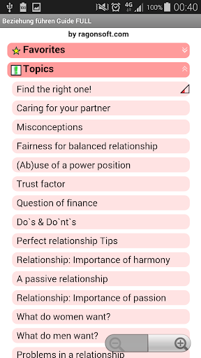 【免費書籍App】Relationship Guide FULL-APP點子