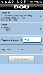 BCU Mobile Banking- screenshot thumbnail