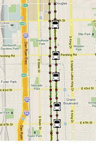 CTA Bus Tracker Pro- screenshot