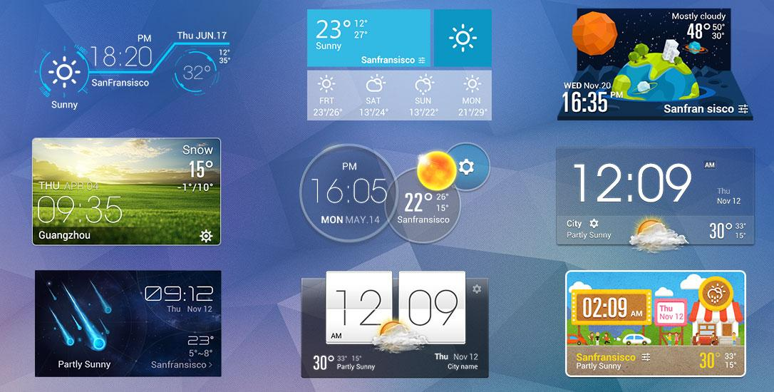 orange clock weather widget   android apps on google play