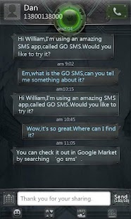 GO SMS Pro Ring ThemeEX - screenshot thumbnail