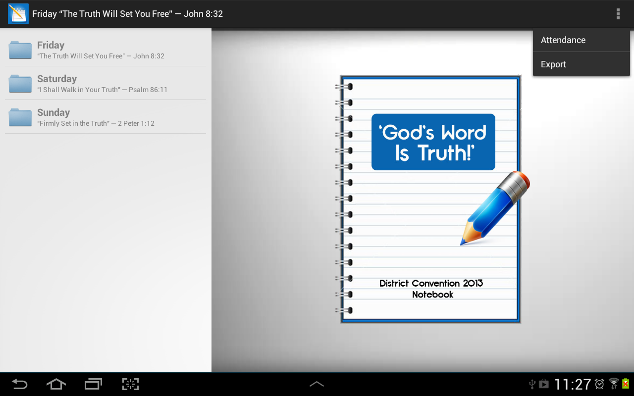 Assembly Notes (Jehovah's W.) - screenshot