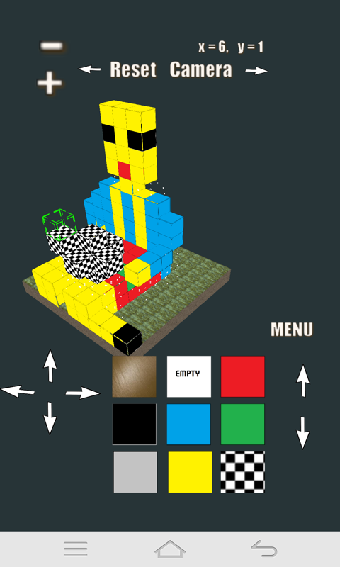 Block World, Create own world - screenshot