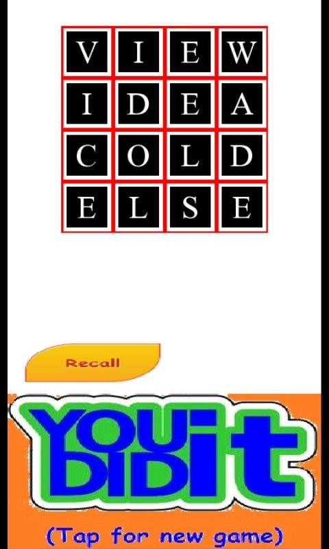 Word Sudoku - screenshot