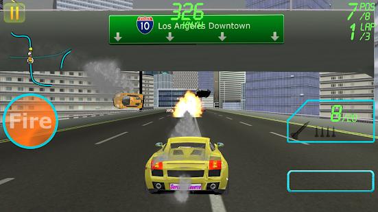 Supercar Shooter : Death Race - náhled