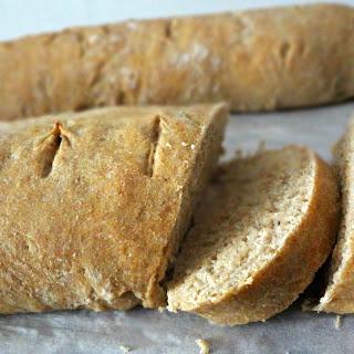 Quick Wheat Baguettes