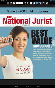 The National Jurist- screenshot thumbnail