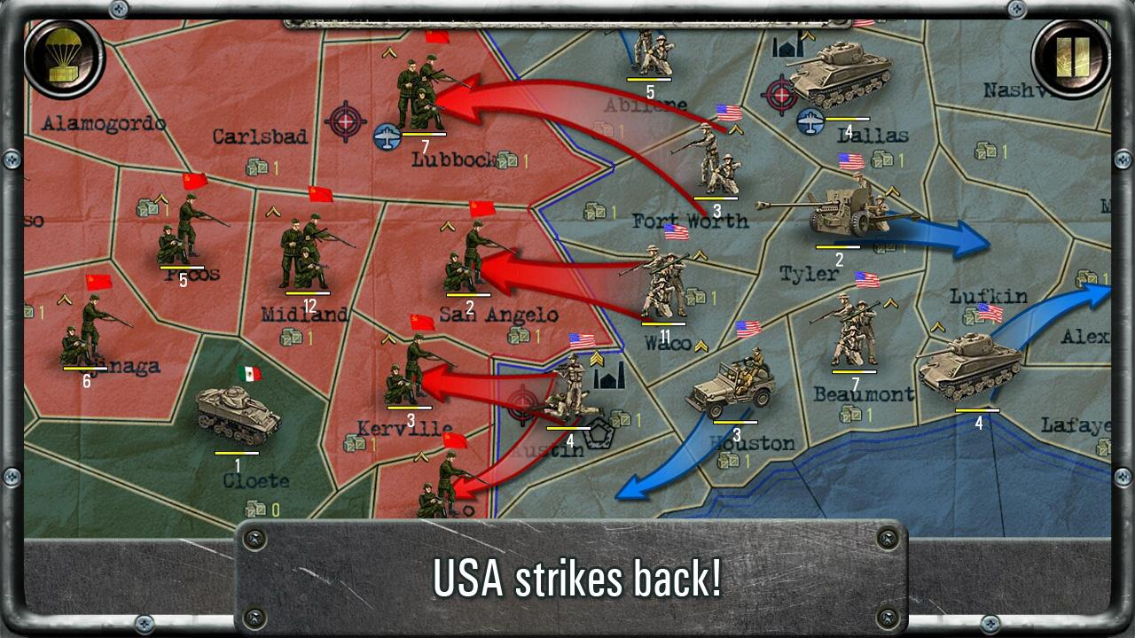 Strategy & Tactics:USSR vs USA- screenshot