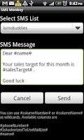 Screenshot of SMS Monkey