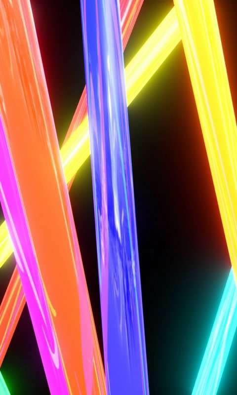 Neon lights free livewallpaper - screenshot