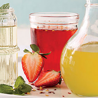 Strawberry-Chile Syrup.