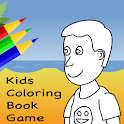 Kids Coloring Book Game FREE logo