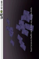 Screenshot of ポケット タロット
