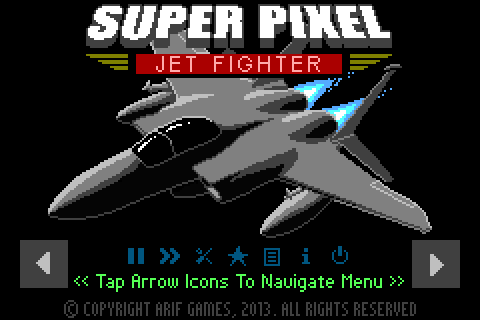 Super Pixel Jet Fighter