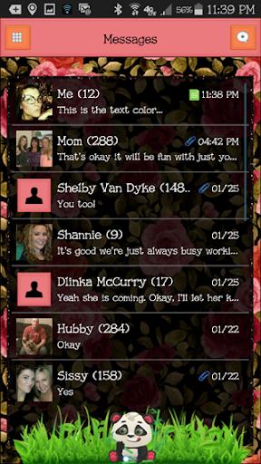 GO SMS THEME - EQ20