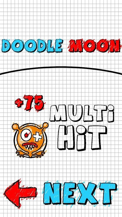 Doodle Moon - screenshot