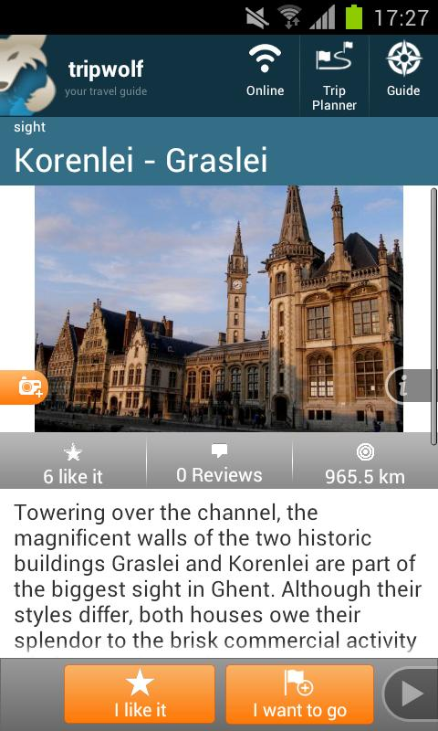 Ghent Travel Guide - screenshot