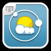 8Bit Weather Clock - UCCW