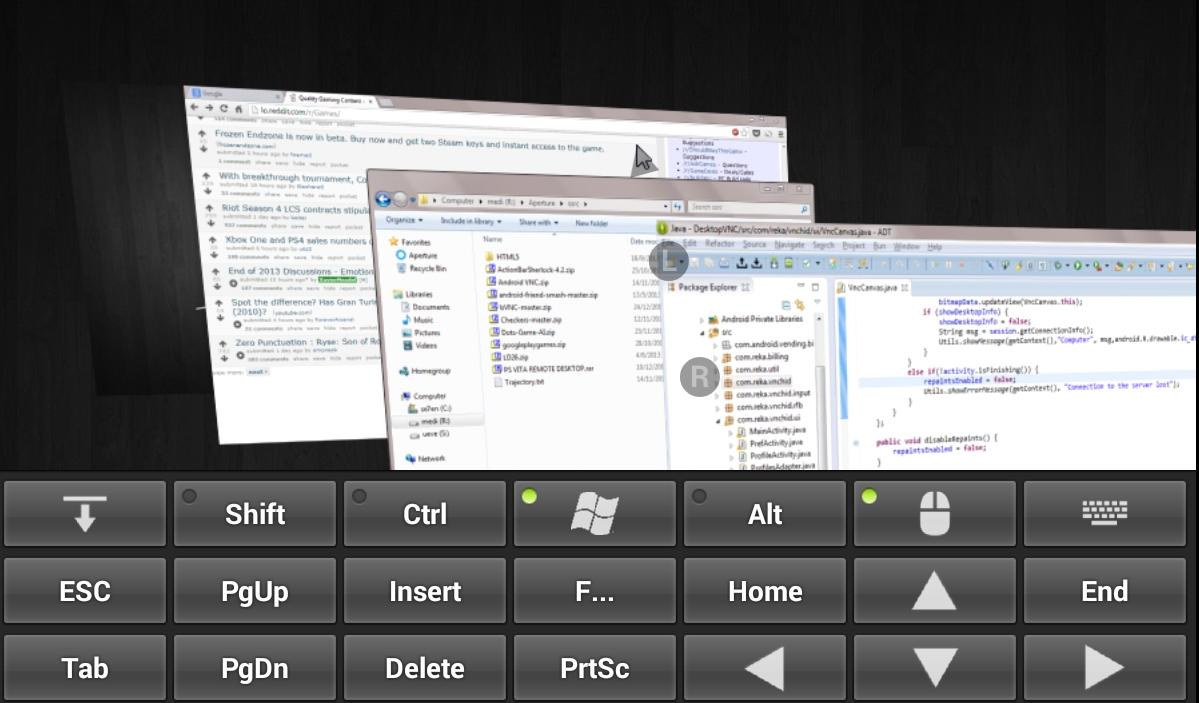 Desktop VNC - Remote Display - screenshot