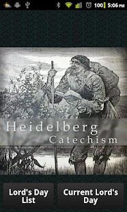 Heidelberg Catechism- screenshot thumbnail