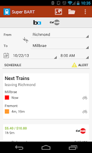 Super BART (and Caltrain) - screenshot thumbnail