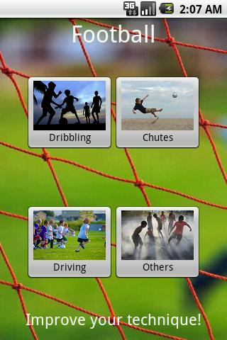 Learning Football- screenshot