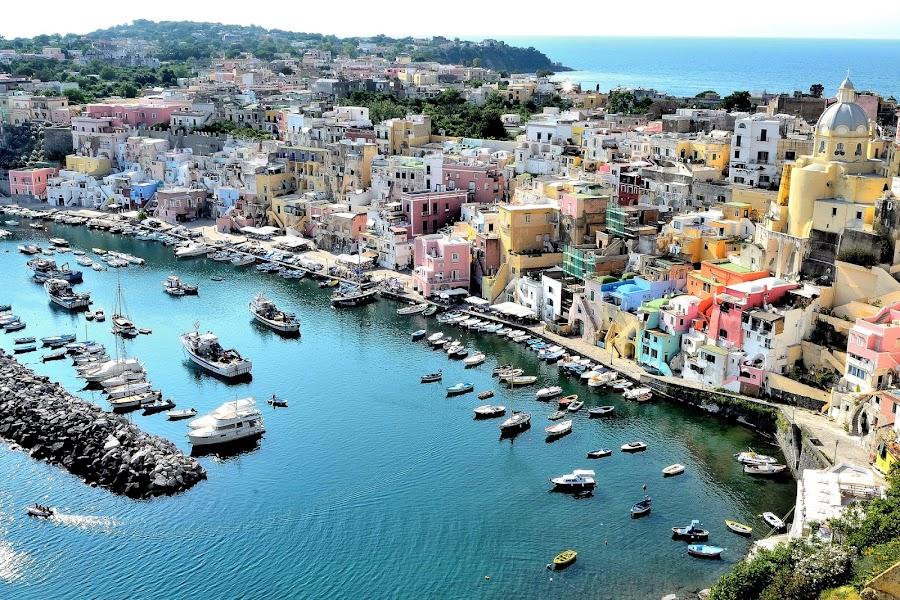 Procida island to love by Marco Menchini - City,  Street & Park  Vistas ( ischia, procida, landscape )