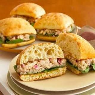Tuscan White Bean and Tuna Sandwiches.