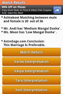 Horoscope Matching - Kundli- screenshot thumbnail