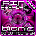 Pink Bionic GO Contacts Theme icon