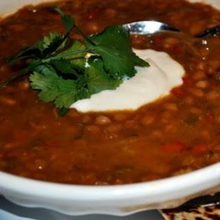Slow Cooker Cajun White Bean Soup
