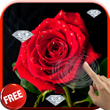 Diamonds and Roses LWP icon