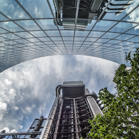 The Lloyd's Building (1986) by Veronika Gallova - Buildings & Architecture Office Buildings & Hotels ( building, london, architecture, the lloyd's building,  )