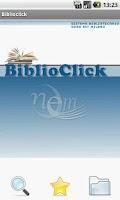 Screenshot of BiblioClick