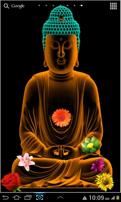 Gautama Buddha Live Wallpaper - screenshot
