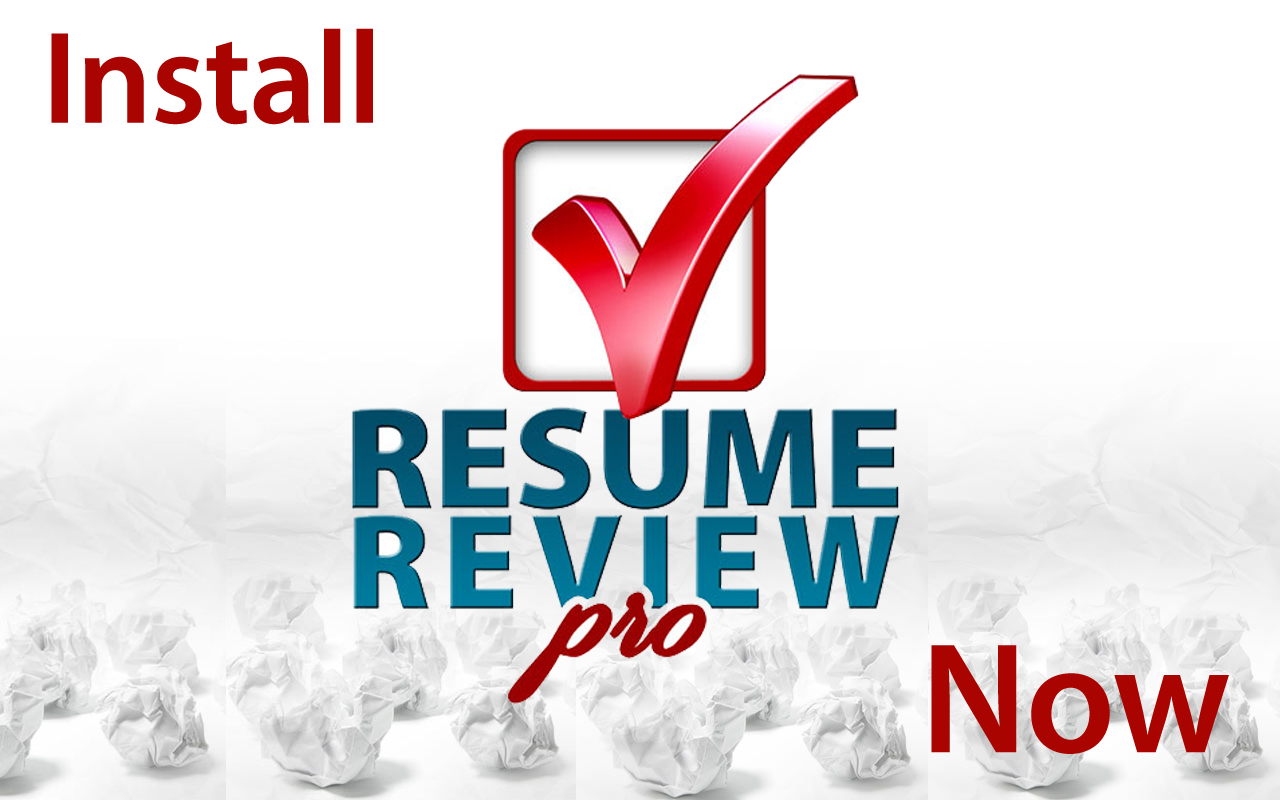 resume review pro screenshot
