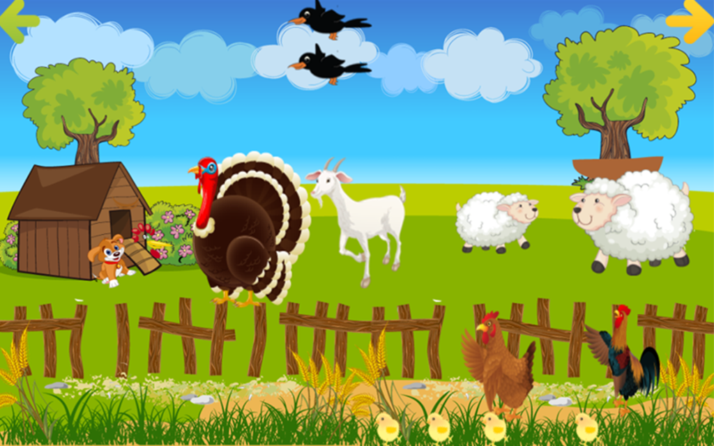 Kids Farm World- screenshot