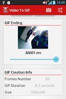 Screenshot of Video To GIF