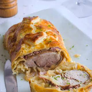 Pork Tenderloin In Puff Pastry.