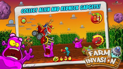 Game Farm Invasion USA for Mobile Android free