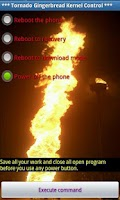 Screenshot of Tornado Gingerbread Kernel