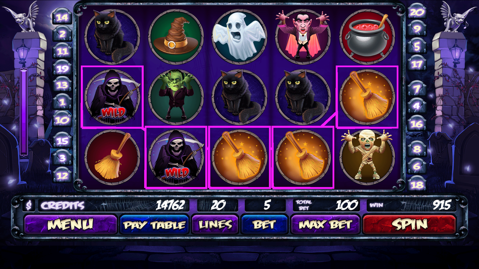 Horror Castle Slots - Play Free Casino Slot Games