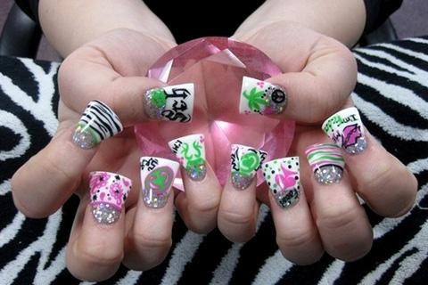 Nail art designs set 3 android apps on google play nail art designs set 3 screenshot prinsesfo Gallery
