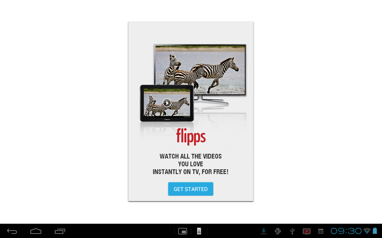 Flipps (Formerly iMediaShare) - screenshot